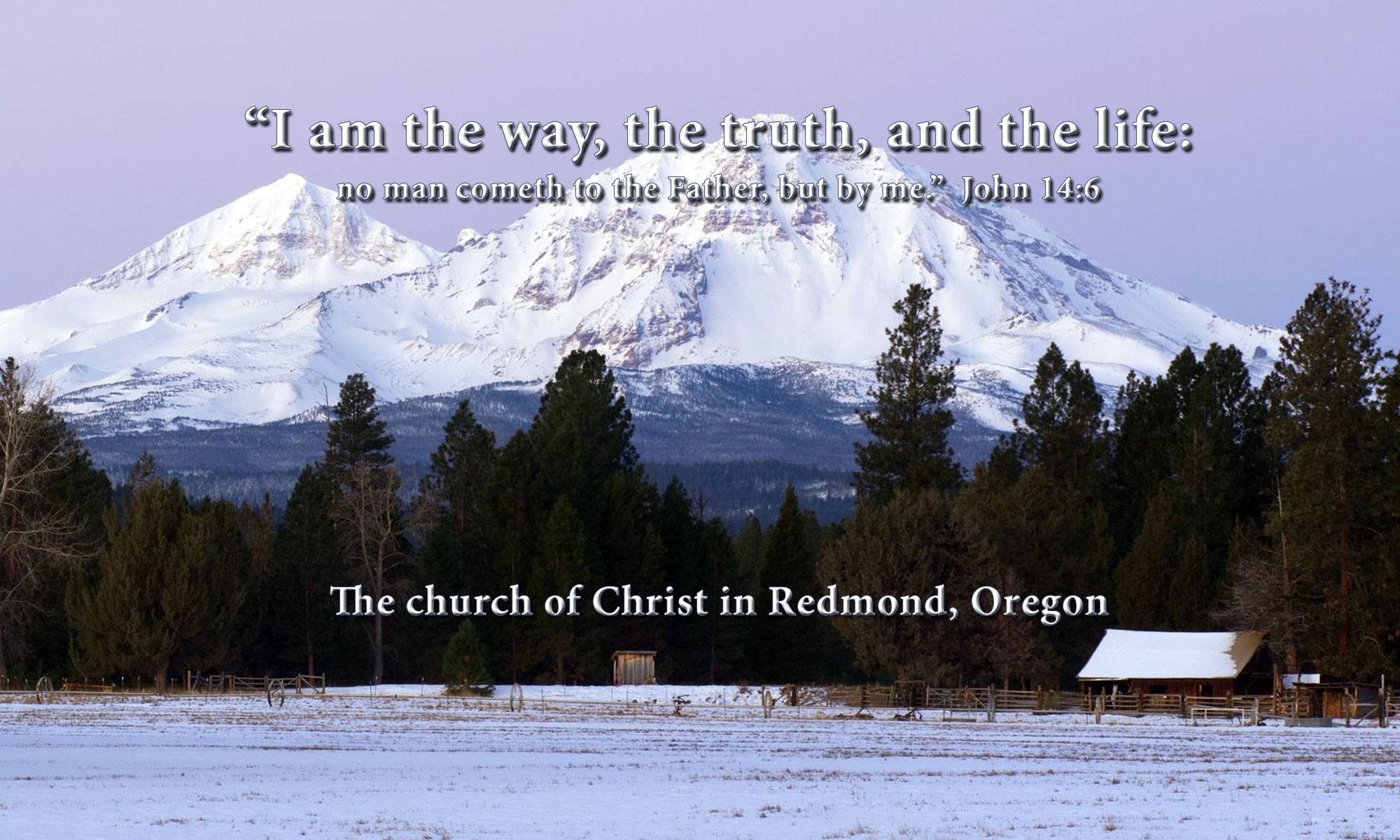The church of Christ in Redmond, Oregon